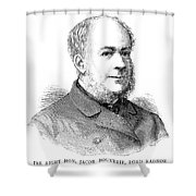 Jacob Pleydell-bouverie (1815-1889) Shower Curtain