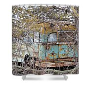 Jacob's Bus Shower Curtain