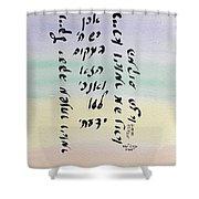 Jacob's Ladder Shower Curtain by Linda Feinberg