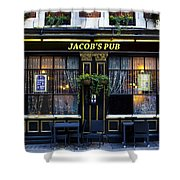 Jacob's Pub Shower Curtain