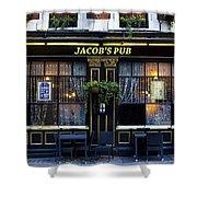 Jacob's Pub Shower Curtain