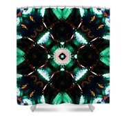 Jade Reflections - 2 Shower Curtain