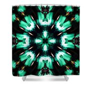 Jade Reflections - 4 Shower Curtain