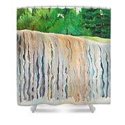 Jagala Waterfalls  Shower Curtain