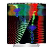 Jagg3d 3dge Shower Curtain