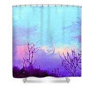 Jagged Sky Shower Curtain