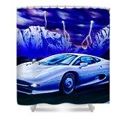 Jaguar 220 Shower Curtain