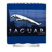 A Gift For Dads And Jaguar Fans Shower Curtain