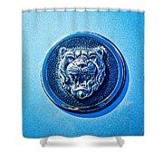 Jaguar Emblem -0056c Shower Curtain