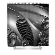 Jaguar Xk 120 Shower Curtain