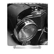 Jaguar Ss Angled Front Shower Curtain