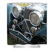 Jaguar Ss100 Shower Curtain
