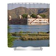 Jah Mahal Palace Shower Curtain