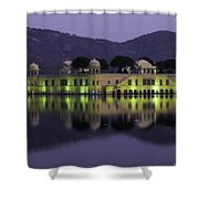 Jai Mahal Water Palace Shower Curtain