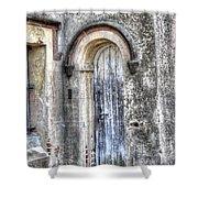 Jail Door Shower Curtain