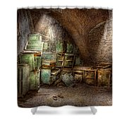 Jail - Eastern State Penitentiary - Cabinet Members  Shower Curtain