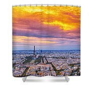 J'aime Paris Shower Curtain