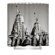 Jain Temple Towers Shower Curtain