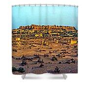 Jaisalmer Shower Curtain