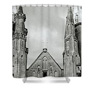 Jakarta Cathedral  Shower Curtain