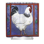 Jake The Rooster Shower Curtain