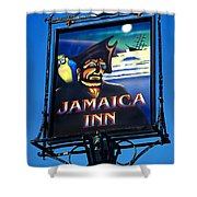 Jamaica Inn On Bodmin Moor Shower Curtain