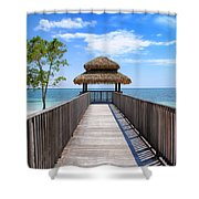 Jamaican Paradise Shower Curtain