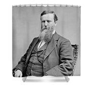 James Baird Weaver (1833-1912) Shower Curtain