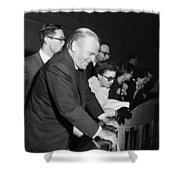 James Cagney Dublin 1958 Shower Curtain