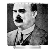James Connolly (1870-1916) Shower Curtain