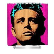 James Dean 001 Shower Curtain