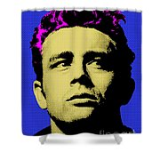 James Dean 002 Shower Curtain