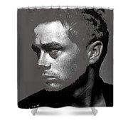 James Dean Roy Schatt Photo New York City 1954-2013 Shower Curtain