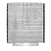 James Madison Memorial Shower Curtain