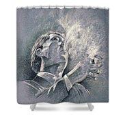 James Spader Shower Curtain