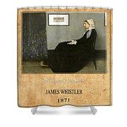 James Whistler 1 Shower Curtain