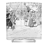 Jamestown Women, 1621 Shower Curtain