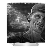 Jamie Ashley Shower Curtain