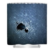 Jammer Abstract Cosmos 001 Shower Curtain