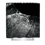 Jammer Abstract Flow 002 Shower Curtain