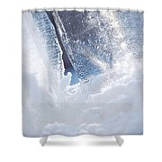 Jammer Abstract Schism 001 Shower Curtain