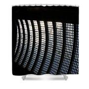 Jammer Architecture 001 Shower Curtain