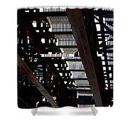 Jammer Architecture 008 Shower Curtain