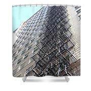 Jammer Architecture 010 Shower Curtain