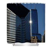 Jammer Architecture 012 Shower Curtain