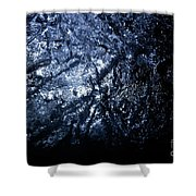Jammer Blue Hematite 001 Shower Curtain
