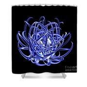 Jammer Blue Star 001 Shower Curtain