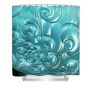Jammer Bubbling Sky Shower Curtain