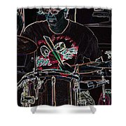 Jammer  By Jrr Shower Curtain
