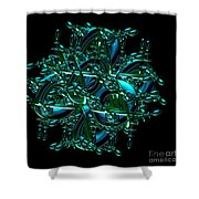 Jammer Chess In Motion Shower Curtain